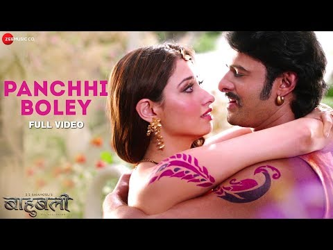 Panchhi Boley - Full Video | Baahubali - The Beginning | Prabhas & Tamannaah
