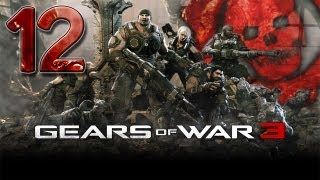 Gears of War 3 - Walkthrough - Part 12 - I HATE ELEVATORS! - W/Commentary