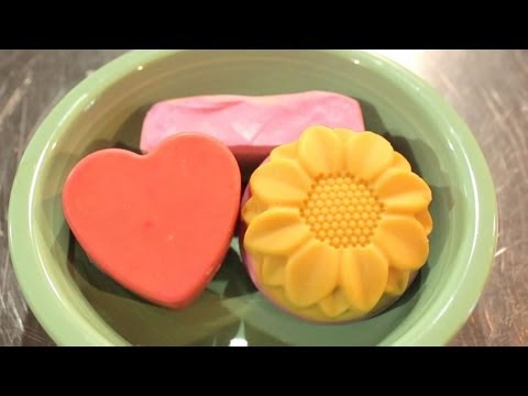 Becky's Goat Milk Soap Recipe. How to Make Soap with Lye, Olive Oil, Goats Milk, & Lavender
