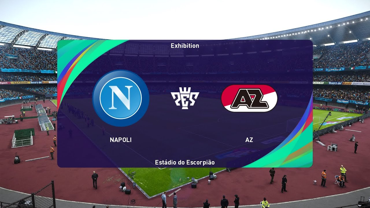 Pes 2021 Napoli Vs Az Alkmaar Uefa Europa League 22 10 2020 1080p 60fps Youtube