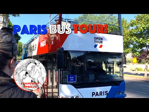 Paris City Bus Tour! Open Tour Paris - HOP ON HOP OFF