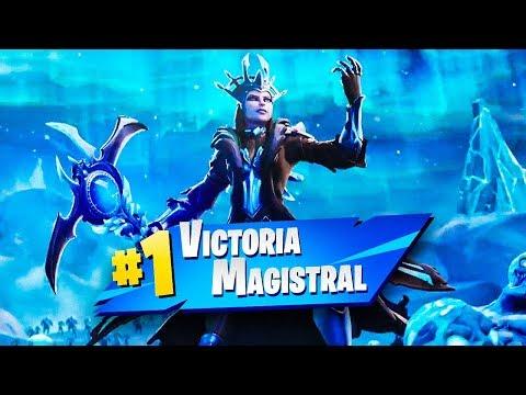 🏆 MI PRIMERA VICTORIA en TORMENTA DE HIELO de Fortnite - TheGrefg thumbnail