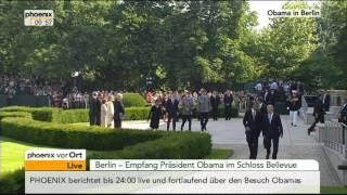 Joachim Gauck empfängt Barack Obama - VOR ORT vom 19.06.2013