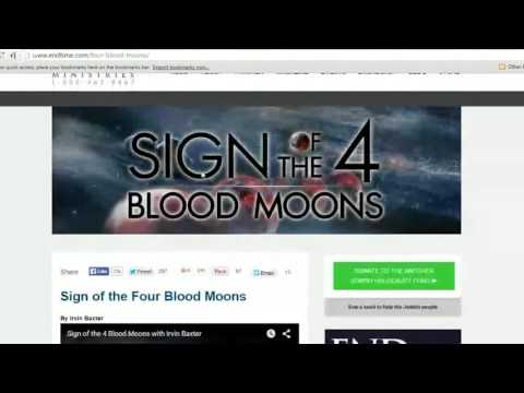 The Shemitah, blood moons and why the end of the world did not occur in September, 2015