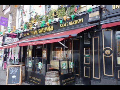 J.W. Sweetman Craft Brewery - Dublin, Ireland - Beer Sampler - Stout, Pale Ale, Red, Porter, Blonde