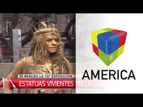 Concurso nacional de Estatuas Vivientes