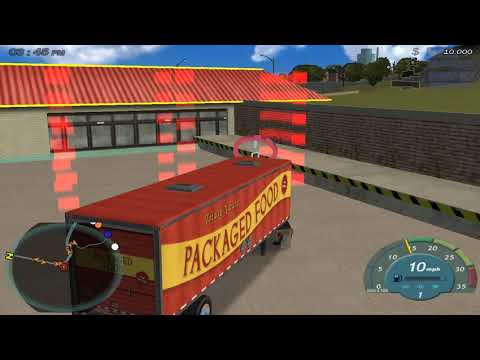 18 Wheels of Steel Convoy walkthrough part 1 |