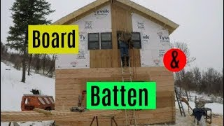 DIY Home Build: Siding, Window Trim and Stain - Red Poppy Ranch