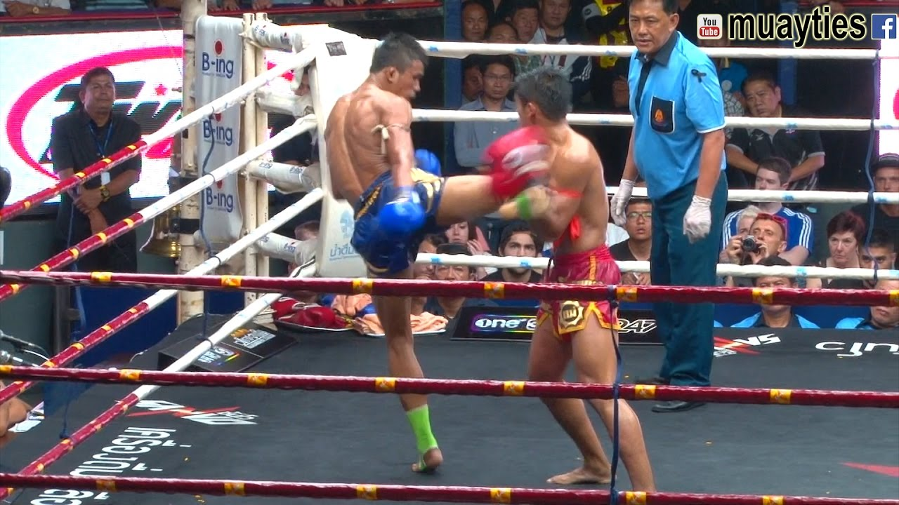 Superlek vs  Sangmanee: An Instant Muay Thai Classic | FIGHTLAND