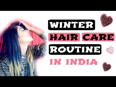 Winter hair care routine | for indian hairs | in india + GIVEAWAY (closed)