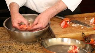 How To Clean Lobsters : Lobster, Salmon & Scallops