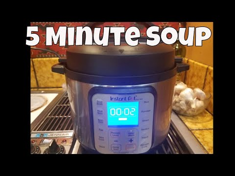 Turkey Vegetable & Noodle Soup In 5 MINUTES With Linda's Pantry