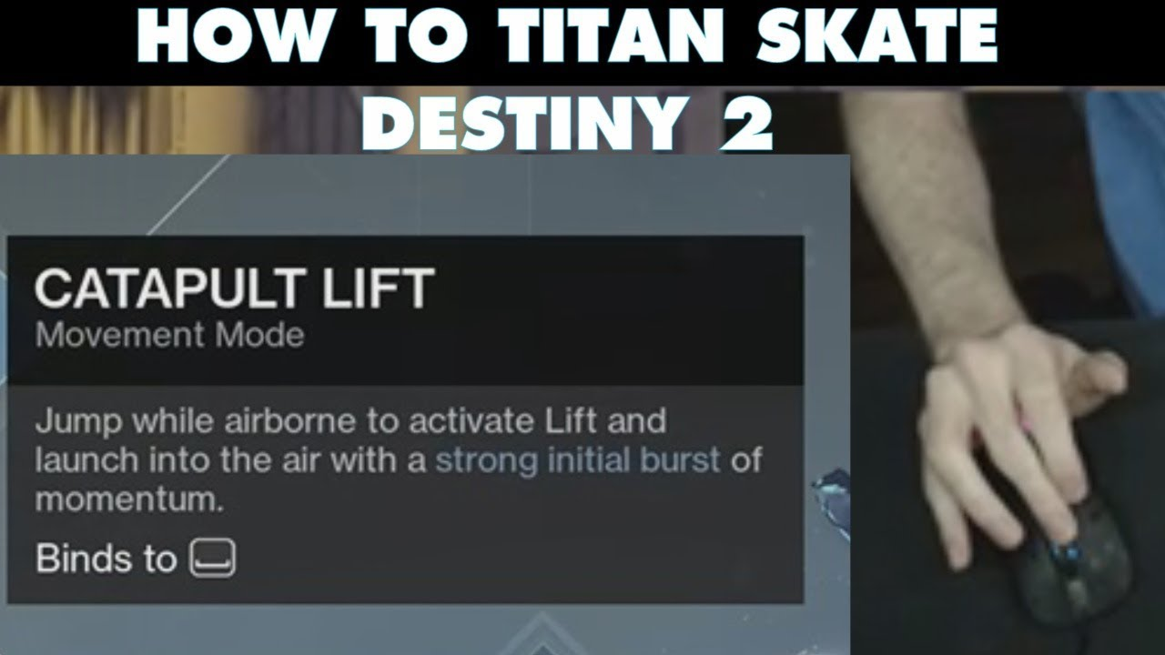 TITAN SKATING IN DESTINY 2 PC | Tutorial [NO MACROS] | How to