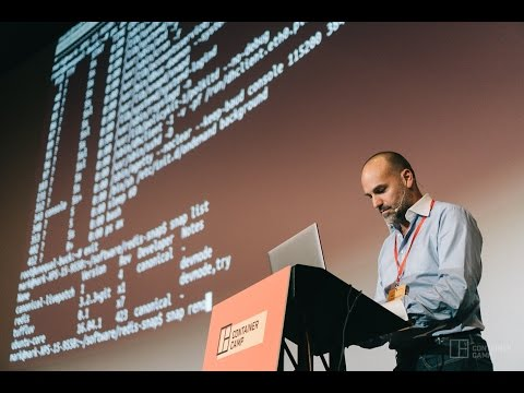 Why we need a different container purely for apps - Mark Shuttleworth (Canonical)