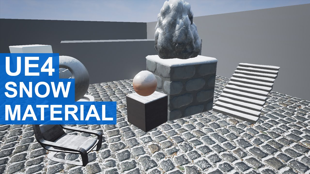 Unreal Engine 4 - Dynamic Snow Material - Most Popular Videos