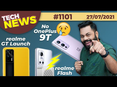 realme GT Series Coming, No OnePlus 9T😐, realme Flash⚡, RedmiBook India Launch, Android 13😋-#TTN1101
