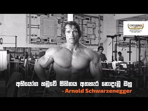 අභියෝග හමුවේ සිහිනය අතහැර නොදැමූ ඔහු - Arnold Schwarzenegger