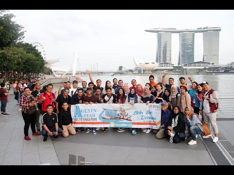 Agency Team BNI LIFE Goes To Singapore