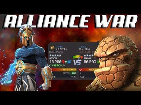 MCOC - Alliance War Season 9: War #5