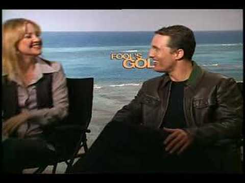 Kate Hudson Matthew McConaughey interview for Fool's Gold