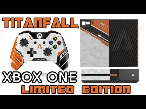 Xbox One Titanfall Edition Box Titanfall - Xbox ONE &...