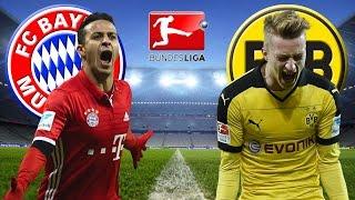 FC BAYERN MÜNCHEN vs BORUSSIA DORTMUND 4:1 Bundesliga 08.04.2017 Bayern BVB