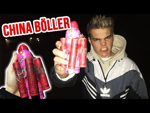 China D-Böller VS Bilou !! (⛔BITTE NICHT nachmachen!)