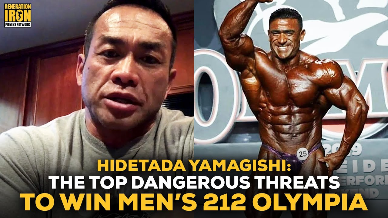 Hidetada Yamagishi The Top Most Dangerous Men S 212 Bodybuilders At Olympia 2020