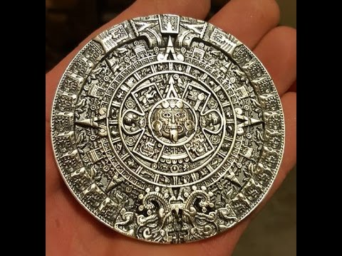 What a Month of Mexican numismatics!! Mayan Calendar