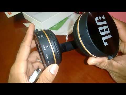 Fone JBL jb950  sem fio Bluetooth e aceita  cartão de memória vale apena comprar