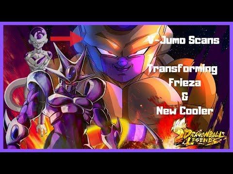 Transforming Dragon Ball Super Frieza & New Cooler V-Jump Leaks // Dragon Ball Legends