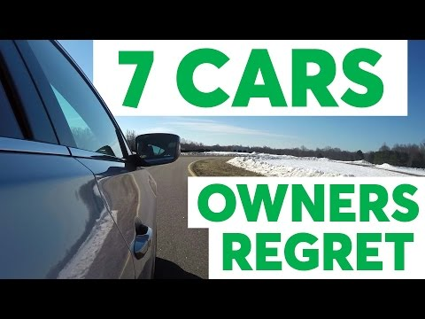 Buyer's Remorse: 7 Cars Owners Regret | Consumer Reports