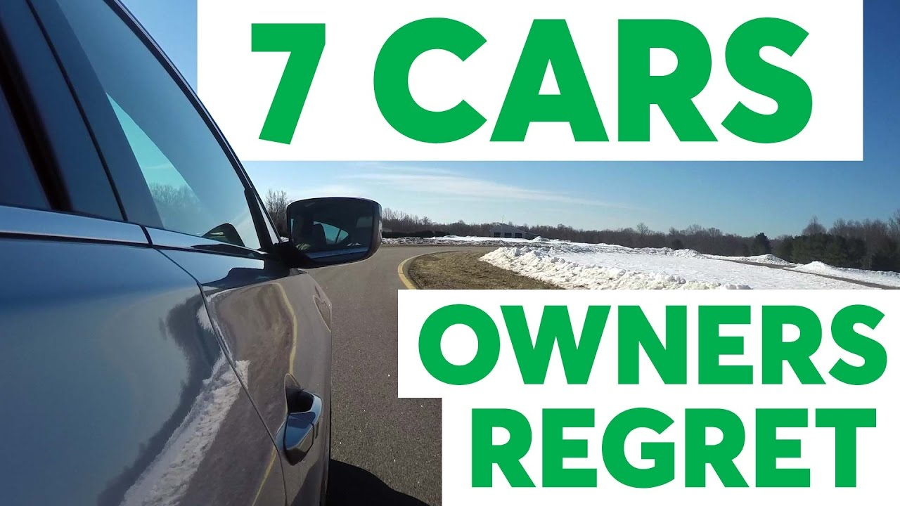 Buyers Remorse Car >> Buyer S Remorse 7 Cars Owners Regret Consumer Reports