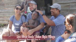 Max international Diamond Retreat Belize 2017 - Day 4 Max Gives Back