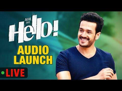 HELLO! Audio Launch Live || Akhil Akkineni, Kalyani Priyadarshan II Annapurna Studios