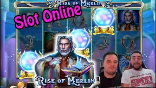SLOT ONLINE - PROVIAMO LA RISE OF MERLIN