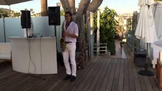 Saxofonist Mallorca Wedding International