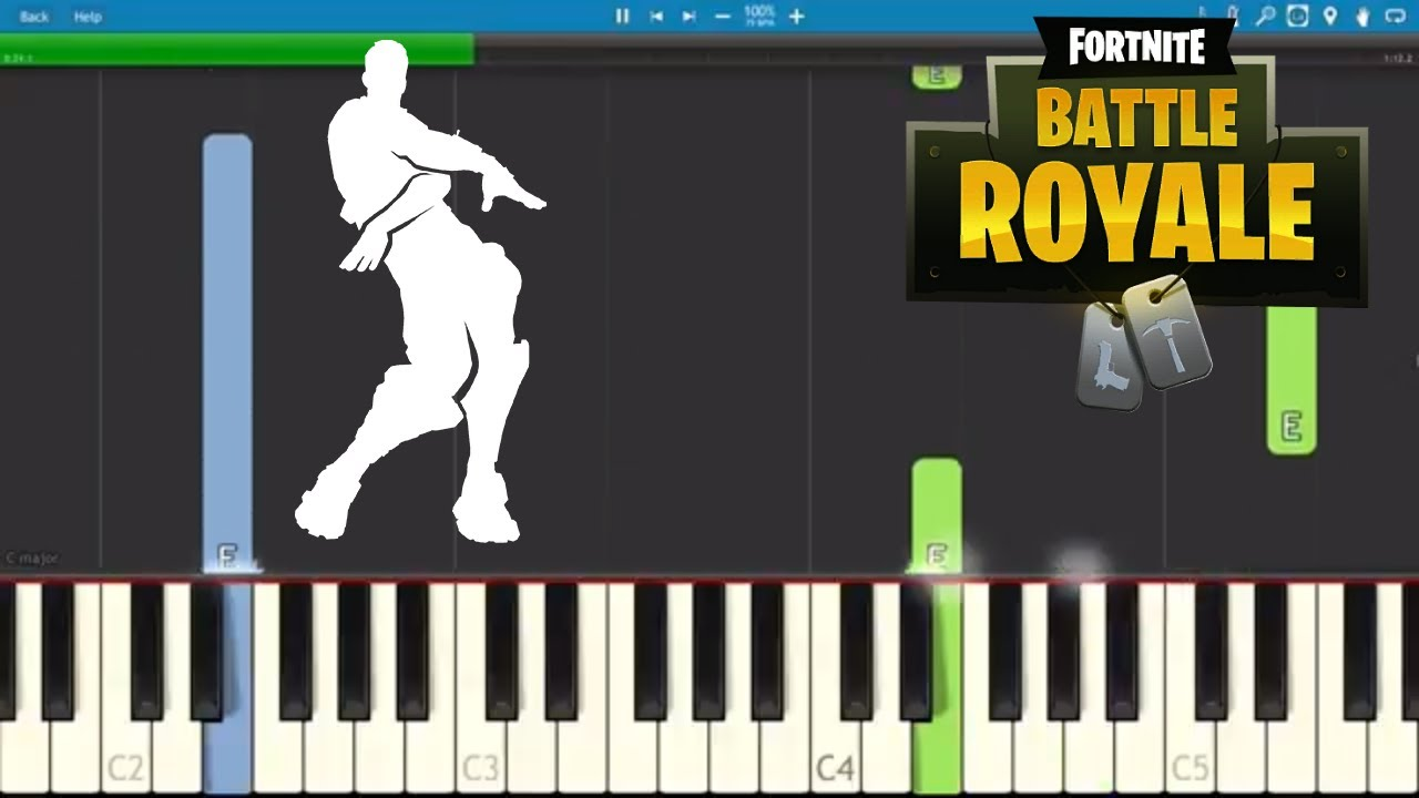 Fortnite Orange Justice - Piano Tutorial - Dance Emote ...