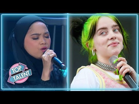 BEST BILLIE EILISH Covers On Idol, X Factor And Got Talent! | Top Talent
