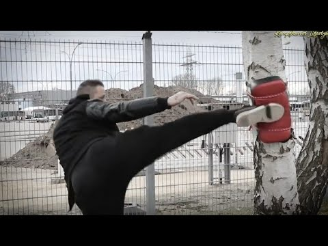 Kicks ohne Partner hart trainieren - So geht´s !