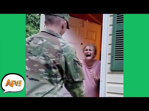 The BEST Surprises AREN'T FAILS! 😍   Funny Heartwarming Moments   AFV 2021