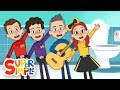The Toilet Song by The Wiggles | Animation by Super Simple Songs