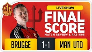 GOLDBRIDGE! Club Brugge 1-1 Manchester United Match Reaction