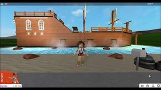 WELCOME TO BLOXBURG | PIRATE SHIP OBBY | $437K ROBLOX