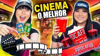 TRANSFORMAMOS NOSSA CASA EM UM CINEMA | Blog das irmãs