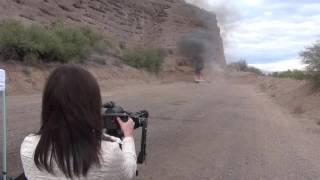 minigun vs truck