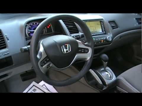Nice 2007 Honda Civic EX Sedan Navigation Automatic   Excellence Cars Direct    YouTube