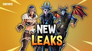 *ALL NEW* LEAKED FORTNITE SKINS & EMOTES..!!! - Fortnite Battle Royal SEASON 7