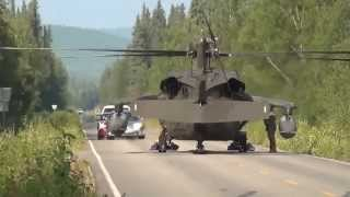 Only In Alaska! Alaskan Roads: Moose, Bears And .. Helicopter