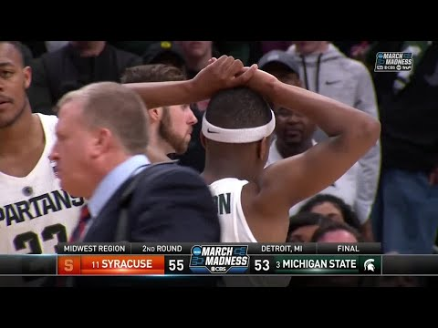 Syracuse takes down Michigan State to advance to the Sweet 16